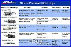 12pc ignition coil ACDelco Iridium spark plug kit for GM Cadillac uf569 d515c