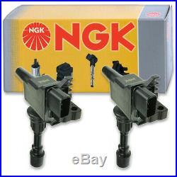 2 pcs NGK Ignition Coil for 2001-2005 Mazda Miata 1.8L L4 Spark Plug Tune ss