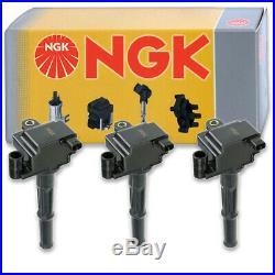 3 pcs NGK Ignition Coil for 1995-2004 Toyota Tacoma 3.4L V6 Spark Plug cu