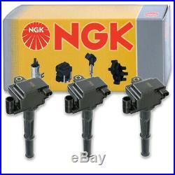 3 pcs NGK Ignition Coil for 1996-2002 Toyota 4Runner 3.4L V6 Spark Plug hc