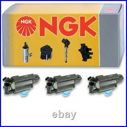 3 pcs NGK Ignition Coil for 1998-2005 Lexus GS300 3.0L L6 Spark Plug Tune it