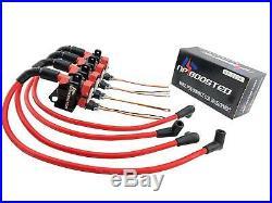 4 GM LS1 LQ9 D585 Ignition Coils & Bracket + 10mm Wires Universal Conversion Kit
