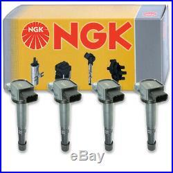 4 pcs NGK Ignition Coil for 2002-2011 Honda Civic 2.0L L4 Spark Plug Tune at