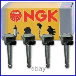 4 pcs NGK Ignition Coil for 2004-2008 Acura TSX 2.4L L4 Spark Plug Tune Up bf