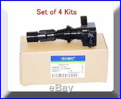 4Kit Ignition Coil FitsMazda 3 6 2006-2013 CX-7 2007-2012 MX-5 MIATA 2006-2015