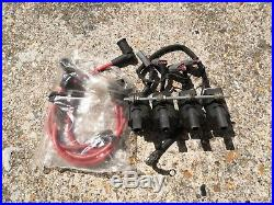 4X OEM ACDelco IGNITION COIL D585 + KIT ADAPTER+ WIRES FOR ALL MAZDA RX8
