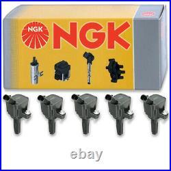 5 pcs NGK Ignition Coil for 2007-2012 Chevrolet Colorado 3.7L L5 Spark zg