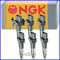 6 pcs NGK Ignition Coil for 2004-2010 Porsche Cayenne 3.2L 3.6L V6 Spark zx