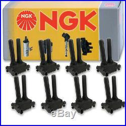 8 pcs NGK Ignition Coil for 2006-2010 Dodge Ram 1500 5.7L V8 Spark Plug ct