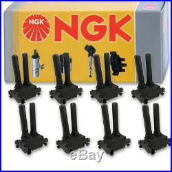 8 pcs NGK Ignition Coil for 2006-2015 Dodge Charger 5.7L 6.2L 6.1L 6.4L V8 sd
