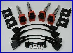 Audi 2.0T Coil Conversion ICM Delete Kit R8 Coilpack Plates (97-99.5 1.8T) B5 A4
