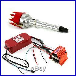 Chevy 348 409 Pro Billet Aluminum Distributor 6AL CDI Ignition & Coil Kit