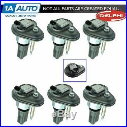 Delphi GN10114 Ignition Coils COP Set of 6 for Buick Chevy GMC Truck SUV New