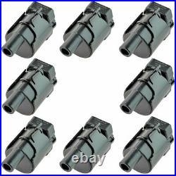 Delphi GN10119 Ignition Coil Set of 8 for Chevy GMC Cadillac V8 4.8L 5.3L 6.0L