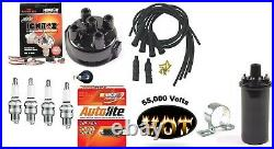 Electronic Ignition Kit & Hot Coil Allis Chalmers WC WD WD45 Tractor Delco-clip