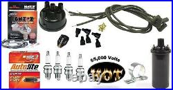 Electronic Ignition Kit & Hot Coil Ford 600, 601, 640, 641, 650, 651 + Tractor