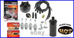 Electronic Ignition, Tune up Kit & Hot Coil IH Farmall 100, 130, 140 Tractor