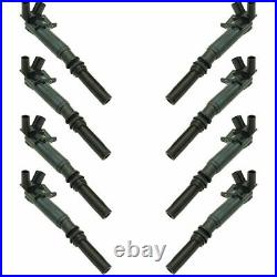 Engine Ignition Coil LH RH Set of 8 for Ford F150 F-250 SD F-350 6.2L Truck New