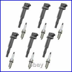 Engine Ignition Coil & NGK Spark Plug Kit 12 Piece Set for BMW