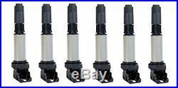 Engine Ignition Coil & NGK Spark Plug Kit 12 Piece Set for BMW 2.5L 3.0L