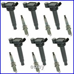Engine Ignition Coil & NGK Spark Plug Kit 12 Piece Set for Lexus Toyota