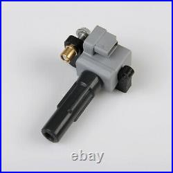 Engine Ignition Coil & NGK Spark Plug Kit 8 Piece Set for Subaru 2.5L Turbo
