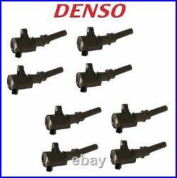 For Ford E-150 F-250 Lincoln Mercury V8 Set Of 8 Ignition Coils Denso 673-6000