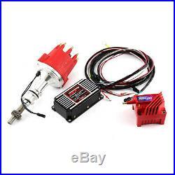 Ford 302C 351C Cleveland Pro Billet Distributor MSD CDI 5520 Ignition & Coil Kit