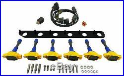 GTR R35 VR38 Ignition Coil Pack Kit for Supra Aristo Soarer 2.5L 1JZ 3.0L 2JZ TT