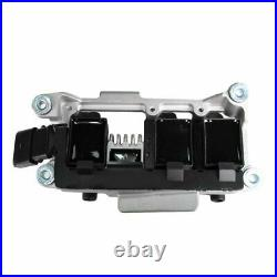Ignition Coil & Spark Plug Wire Set Kit For Audi A4 A6 VW Passat 2.8L AHA 6 Cyl