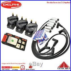 Ignition Coils DFI Module Leads & Spark Plugs for 3.8L V6 Ecotec Holden VS-VT-VX
