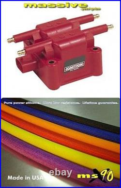 Ignition Kit MSD Coil MSX90 Performance Spark Plug Cables Wires NEON SRT 4 2.4