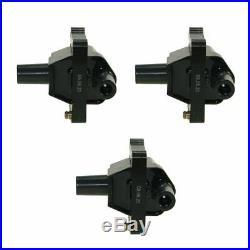 Ignition Spark Plug Wires & Coils Set for Mercedes C280 C36 E320 S320 2.8L 3.2L