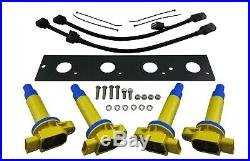 JDM Ignition Coil On Plug Conversion Kit for Lancer Evolution EVO 4 5 6 7 8 MR