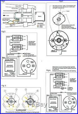 Kawasaki Z900 Z1000 Z1 elektr. Zündung Boyer electronic ignition kit with 2coils