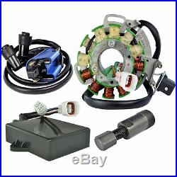Kit Stator + HP CDI Box + Ignition Coil + Puller For Yamaha YFZ 350 Banshee 1996