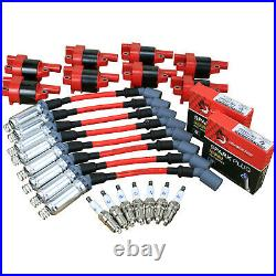 LS PERFORMANCE KIT Spark Plugs Ignition Coils Wire Set LSx LS1 LS2 LS3 LS6 LS7