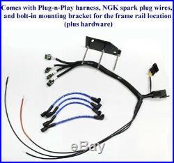 MAZDA RX-7 93-5 Plug Play Ignition Harness + Bracket IGN1A AEM Smart Coil FRAME