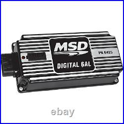 MSD 64253 6AL Ignition Kit Black Includes Box, Coil and Bracket