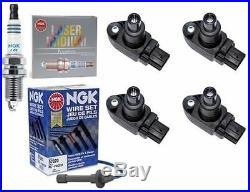 Mazda RX8 Zündspule Kit MAZDA COILS + NGK SPARK PLUGS + NGK WIRES