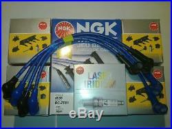 Mazda Rx8 Ngk Coil Coils +genuine Spark Plugs + Ngk Wires Service Kit