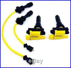 Mitsubishi Lancer Evo 4-9 Coil Pack Set Ignition Kit Performance 8mm Coil Wires