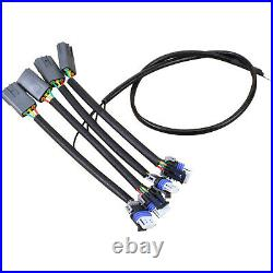 Performance LS Ignition Coil Conversion Kit Plug Wire Set For 2004-11 Mazda RX-8