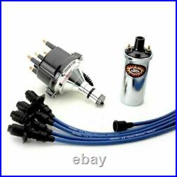 Pertronix Vw Ignition Kit With Ignitor 2 Billet Distributor, Coil, Blue Wires