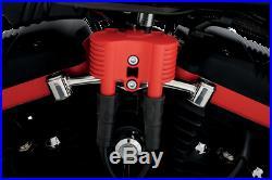 RSD Polished Ignition Coil Relocation Kit 07-13 Harley Davidson Sportster XL