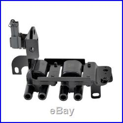 Swan Ignition Coil Pack & NGK Lead Kit for Hyundai Accent Getz 1.4L 1.5L 1.6L
