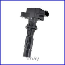 Swan Ignition Coil Pack & NGK Spark Plug Kit for Mazda 3 6 MPS CX-7 2.3L Turbo