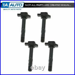 TRQ 1A Multifit Ignition Spark Coil Set of 4 for Honda Acura 30520RRA007 NEW