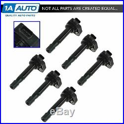 TRQ Ignition Coil Kit Set of 6 for Honda Accord Odyssey Acura CL RL TL 3.2TL V6