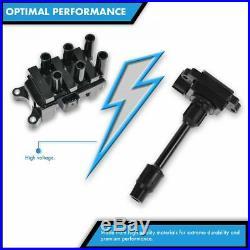 TRQ Ignition Coils Kit Set of 6 for Nissan 350Z Infiniti G35 M35 FX35